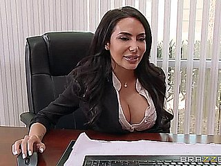 Prexy Secretary Lela Renown Fucks A Large
